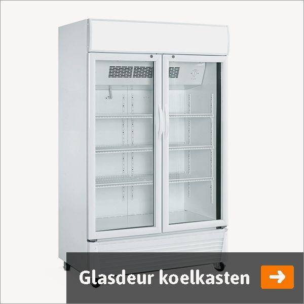 Horeca koelkast Glasdeur koelkast