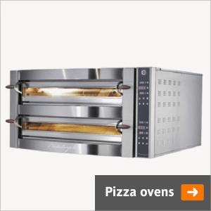 Pizza ovens voor de horeca