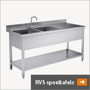 RVS Spoeltafels