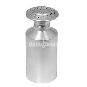 Aluminium zoutstrooier met schroefdop