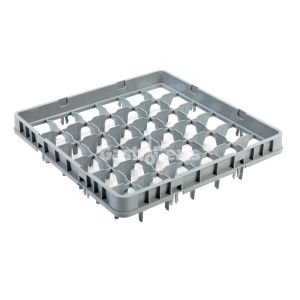 Profinox opzetrand 50x50x12 36-vaks Full Drop