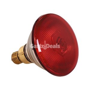 Losse lamp rood